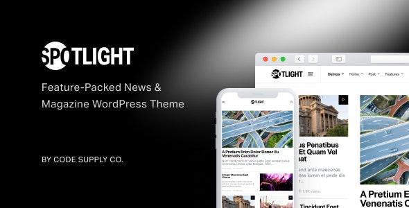 Spotlight 1.6.9 – Feature-Packed News & Magazine WordPress Theme