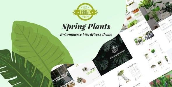 Spring Plants 2.7 – Gardening & Houseplants WordPress Theme