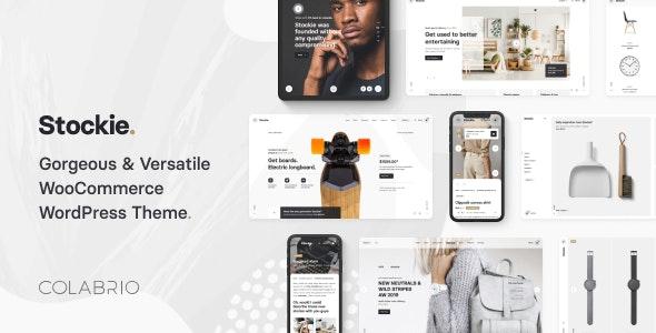 Stockie 1.2.3 – Modern Multi-Purpose WooCommerce Theme