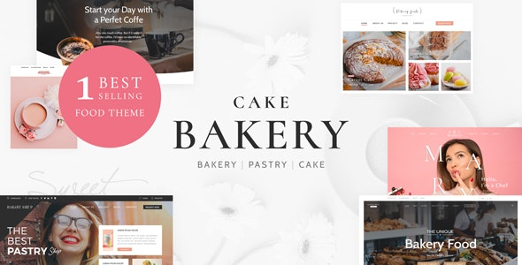 Cake Bakery 6.2 – Pastry WP Theme