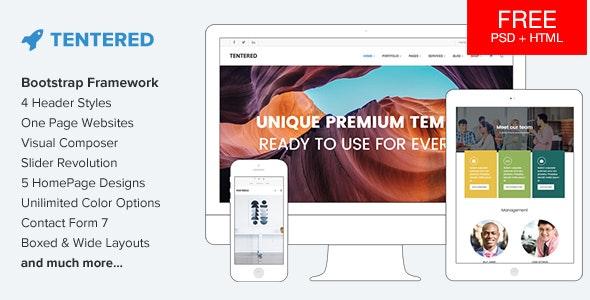 Tentered 2.0 – Multi Purpose WordPress Theme