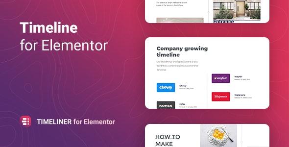 Timeliner 1.0.0 – Timeline for Elementor