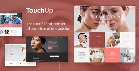 TouchUp 1.2 – Cosmetic and Plastic Surgery Theme