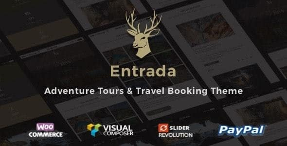 Entrada 4.4.7 – Tour Travel Booking WordPress Theme