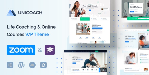 UniCoach 1.0.5 – Multipurpose UpSkill WordPress Theme