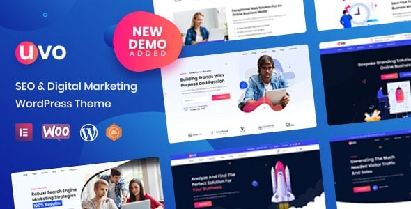 UVO 1.0.3 – SEO & Digital Marketing Theme