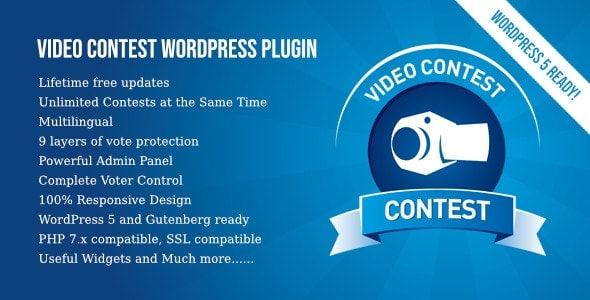 Video Contest WordPress Plugin v3.2