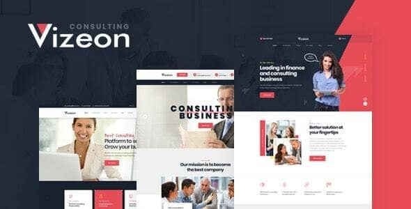 Vizeon 1.0.2 – Business Consulting WordPress Themes
