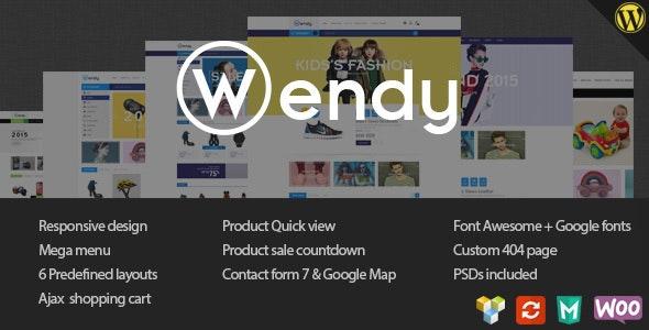 Wendy 1.6.7 – Multi Store WooCommerce Theme