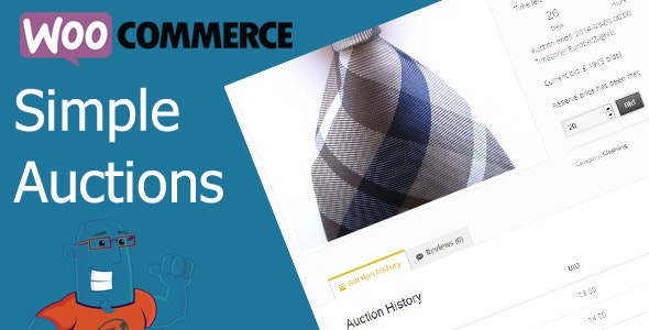 WooCommerce Simple Auctions 2.0.1 – WordPress Auctions Plugin