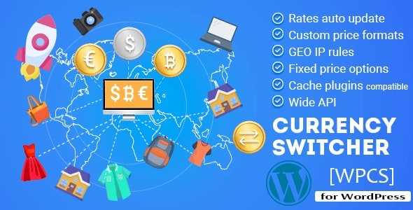 WPCS 2.1.7 – WordPress Currency Switcher