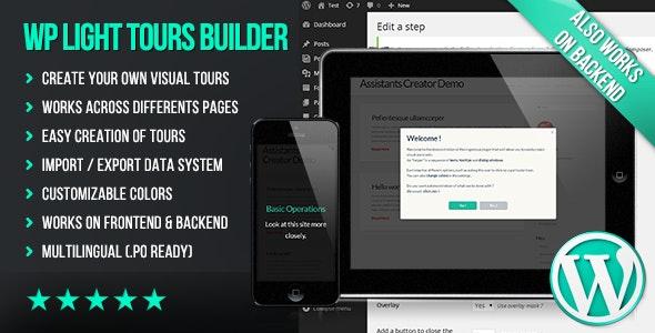 WP Light Tours Builder v3.429