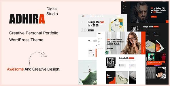 Adhira 1.1 – Creative Agency Portfolio WordPress Theme