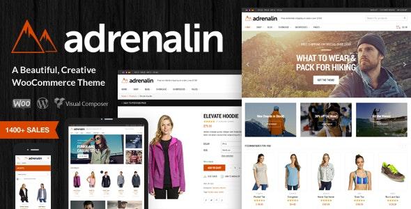 Adrenalin 2.1.0 – Multi-Purpose WooCommerce Theme