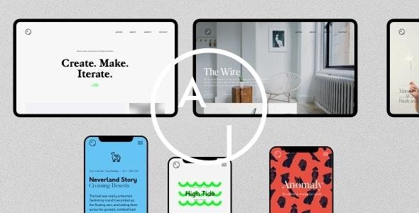 Airtifact 1.2.2 – Portfolio Creative WordPress Theme