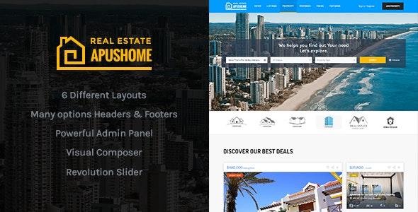 ApusHome 1.7.10 – Real Estate WordPress Theme