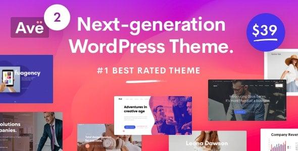 Ave 2.8.2 – Responsive Multi-Purpose WordPress Theme