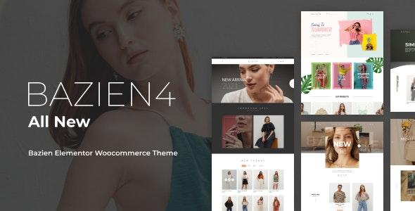 Bazien 4.0.0 – Elementor WooCommerce Theme