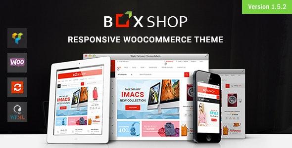 BoxShop 1.5.5 – Responsive WooCommerce WordPress Theme