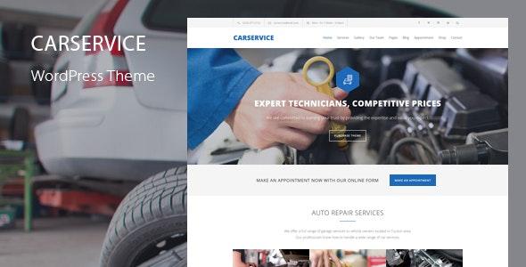 Car Service 6.4 – Mechanic Auto Shop WordPress Theme