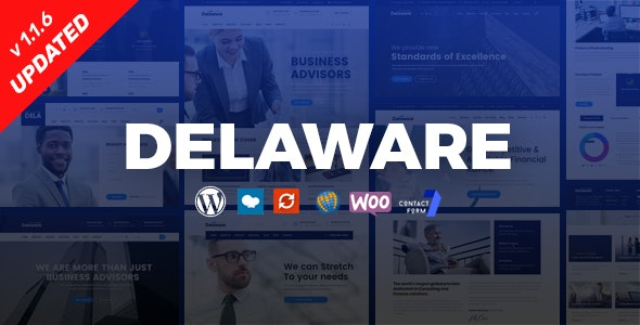 Delaware 1.1.5 – Consulting and Finance WordPress Theme