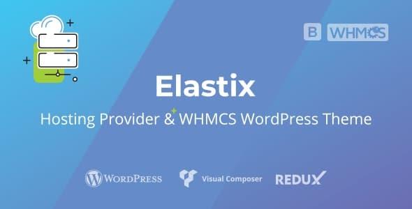 Elastix 1.0 – Hosting Provider & WHMCS WordPress Theme