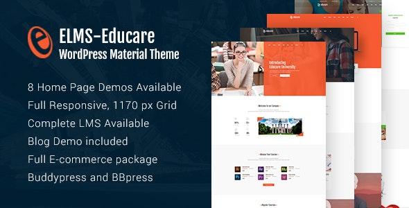 Elms 1.0 – Educational Material WordPress Theme