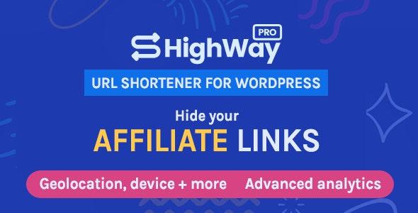 HighWayPro 1.5.2 – URL Shortener & Link Cloaker for WordPress