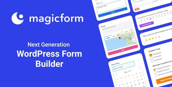 MagicForm 1.6.0 – WordPress Form Builder