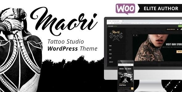 Maori 1.4.1 – Tattoo Studio WordPress Theme