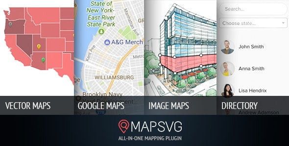 MapSVG 5.16.3 – Interactive Vector maps / Image maps / Google maps – WordPress plugin