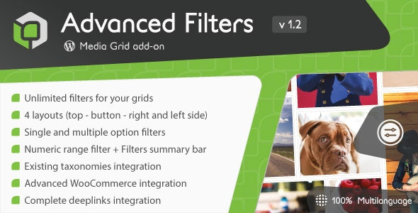 Media Grid – Advanced Filters add-on v1.3.0.1