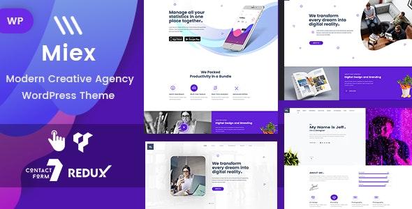Miex 1.0 – Creative Agency WordPress
