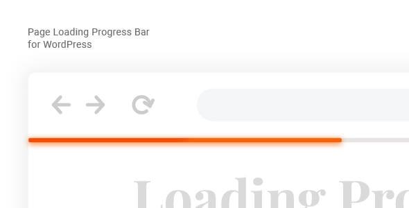 Laser 1.1.0 – Page Loading Progress Bar for WordPress