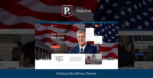 Politix 1.0.4 – Political Campaign WordPress Theme