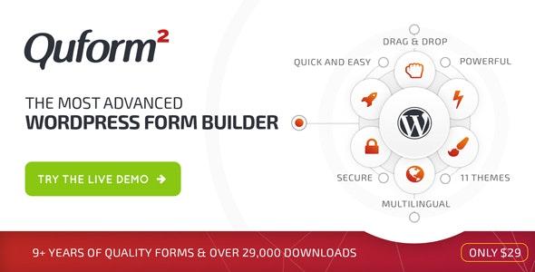 Quform 2.15.0 – WordPress Form Builder