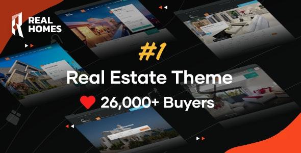 RealHomes 3.15.1 – Estate Sale and Rental WordPress Theme