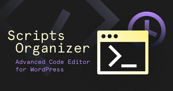 Scripts Organizer 1.6.3 – Advanced Code Editor For WordPress With Scheduling Features