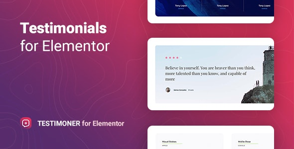 Testimoner 1.0.0 – Reviews with Microdata for Elementor