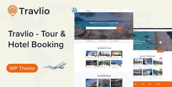 Travlio 1.0.3 – Travel Booking WordPress Theme