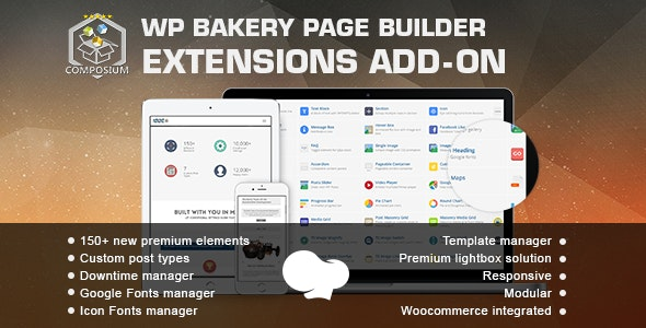 Composium 5.6.1 – WP Bakery Page Builder Extensions Addon (formerly for Visual Composer)