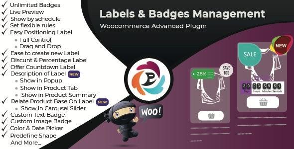 WooCommerce Advance Product Label and Badge Pro v1.8.6