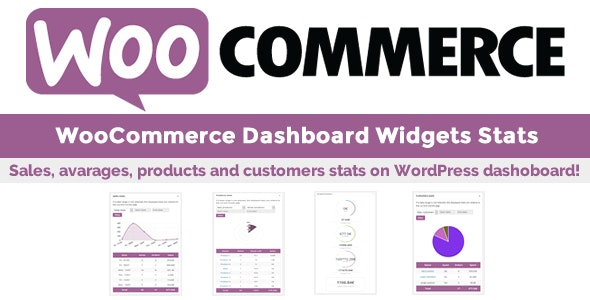 WooCommerce Dashboard Widgets Stats v5.6