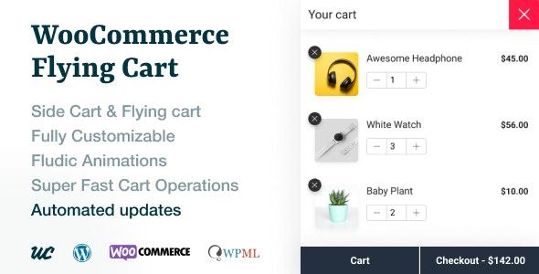 WooCommerce Flying Cart v1.1.9