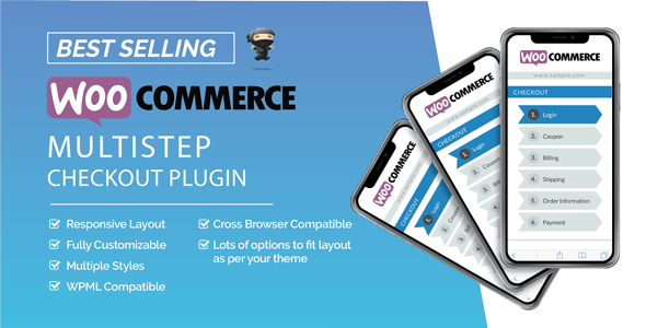 WooCommerce MultiStep Checkout Wizard v3.7.3