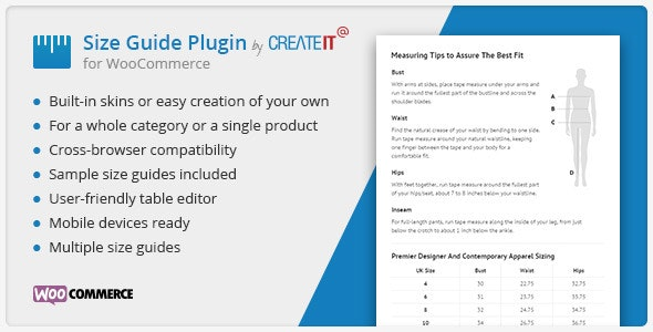 WooCommerce Product Size Guide v3.6