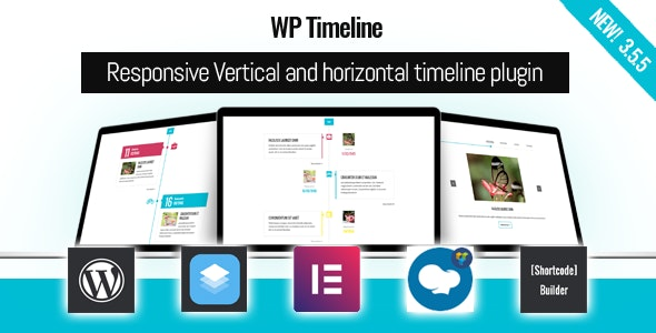 WP Timeline 3.5.6 – Vertical and Horizontal timeline plugin