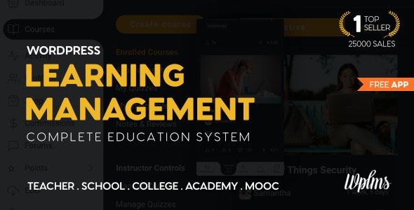 WPLMS 4.1 – Learning Management System for WordPress, Education Theme
