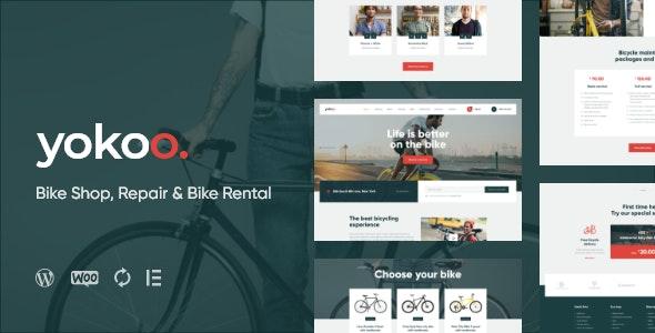 Yokoo 1.0.1 – Bike Shop & Bicycle Rental WordPress Theme