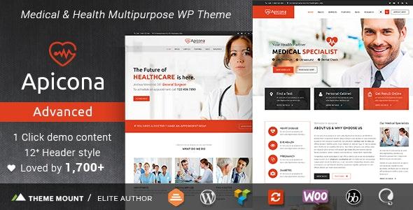 Apicona 22.3.0 – Health & Medical WordPress Theme